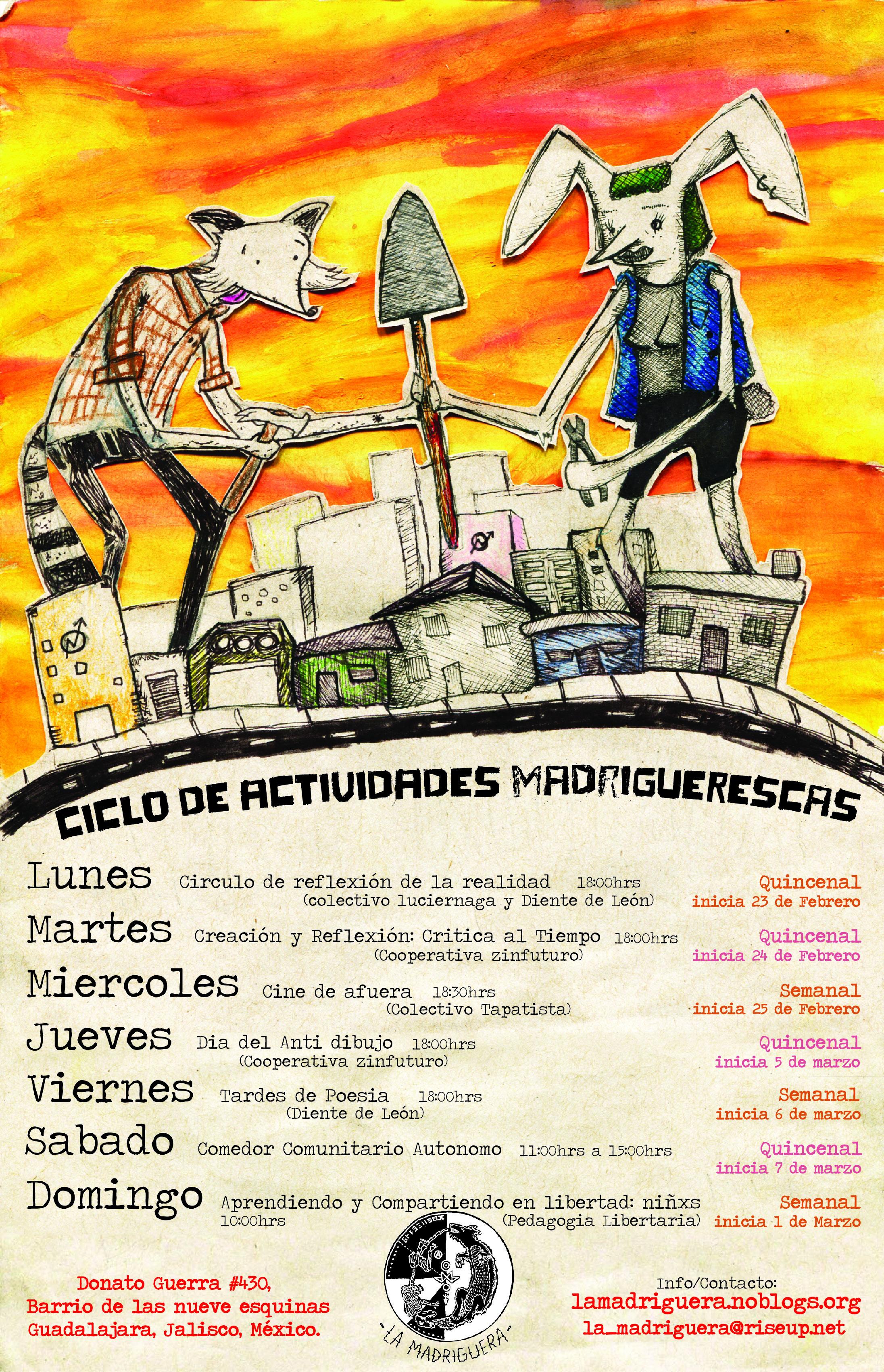 Ciclos madriguerxs